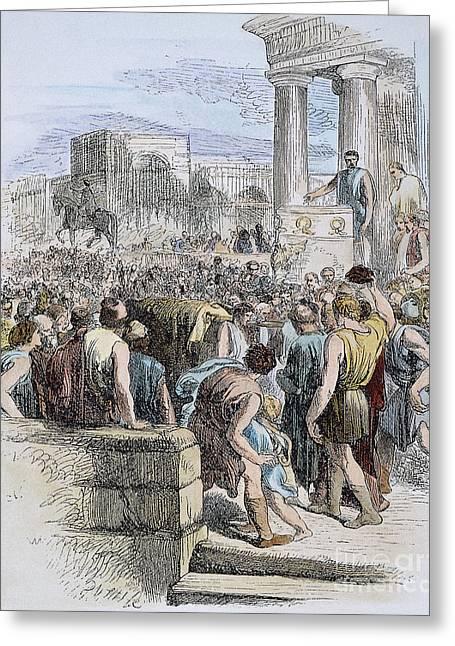 Roman Citizen Greeting Cards - Shakespeare: Julius Caesar Greeting Card by Granger