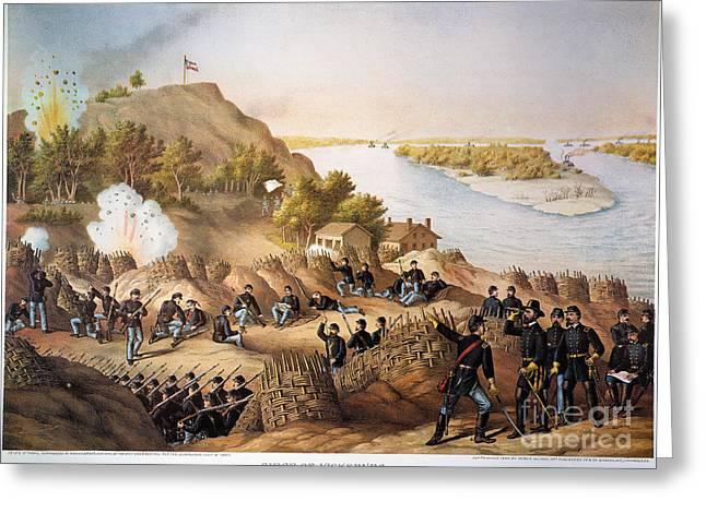 Vicksburg Greeting Cards - Siege Of Vicksburg, 1863 Greeting Card by Granger