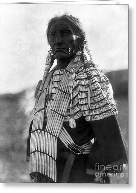 1907 Greeting Cards - SIOUX WOMAN, c1907 Greeting Card by Granger
