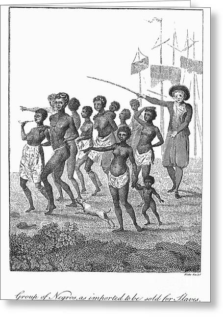 Slavery: West Indies, 1796 Greeting Card by Granger