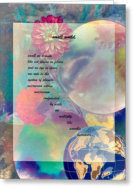 Visionary Artist Greeting Cards - Small World Greeting Card by George  Page