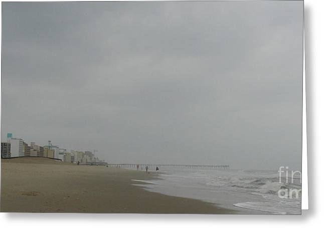 Ocean Photography Greeting Cards - Solitude Greeting Card by Nancy Dole McGuigan