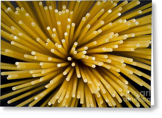 Spaghetti Greeting Cards - Spaghetti Greeting Card by Mats Silvan
