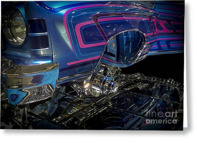 Tricked-out Cars Greeting Cards - Spirit Runner  Greeting Card by Chuck Re