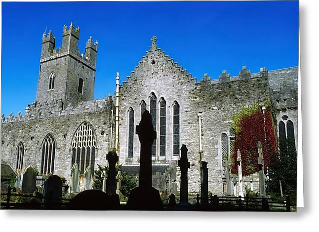 Limerick Greeting Cards - St Marys Cathedral, Co Limerick, Ireland Greeting Card by The Irish Image Collection