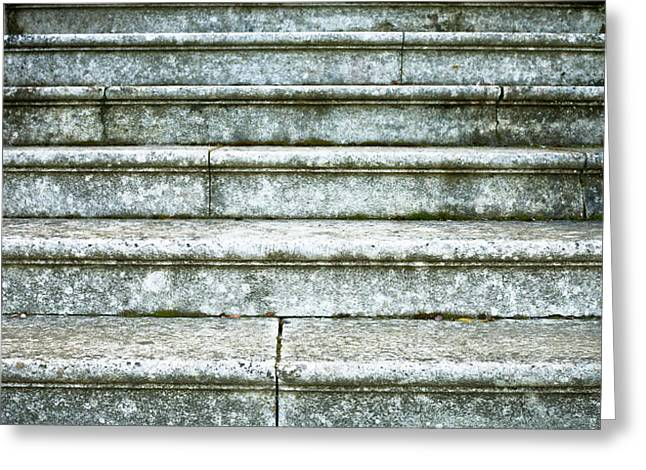 Staircase Greeting Cards - Stairs Greeting Card by Tom Gowanlock