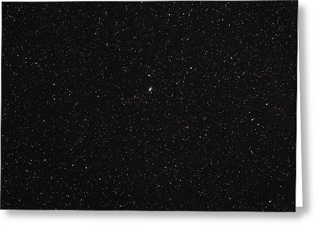 Starfield Greeting Cards - Starfield Greeting Card by Eckhard Slawik