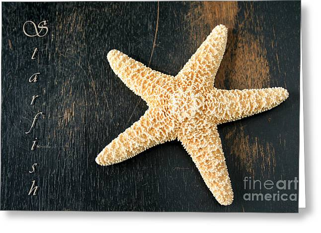 Shell Pattern Greeting Cards - Starfish Greeting Card by Darren Fisher
