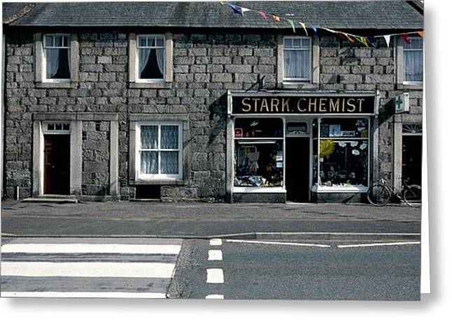 Crosswalk Greeting Cards - Stark Chemist Greeting Card by Jan Faul