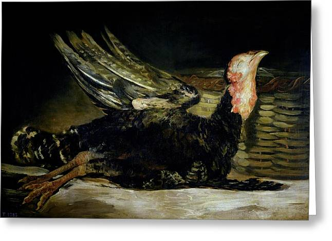 1808 Greeting Cards - Still Life Greeting Card by Goya