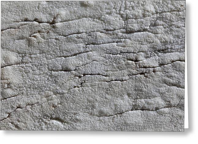 Cracked Stone Greeting Cards - Stone and Light 2 Greeting Card by Robert Ullmann