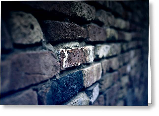 Wall Greeting Cards - Stone Wall Greeting Card by Joana Kruse