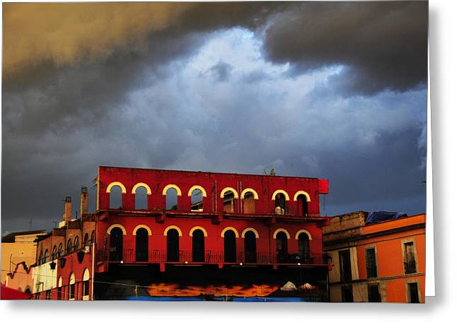 Mexico City Greeting Cards - Storm on Garibaldi Greeting Card by Skip Hunt
