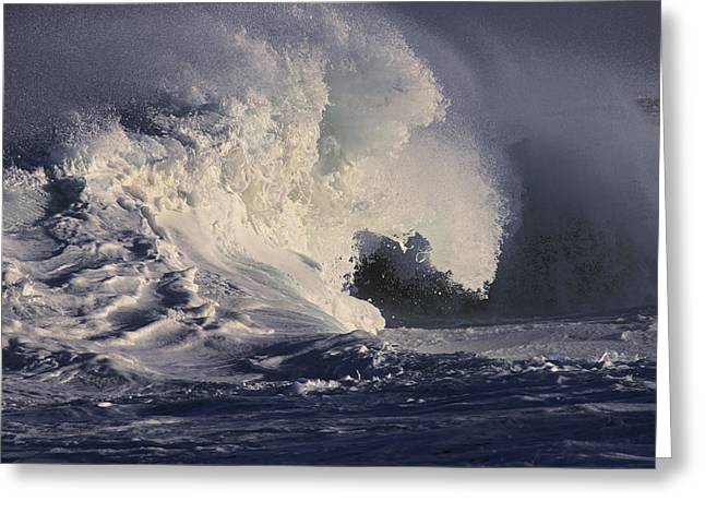 Vince Greeting Cards - Stormy Seas Greeting Card by Vince Cavataio