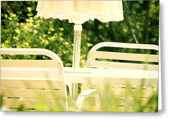 Summer Scene Greeting Cards - Summertime Greeting Card by HD Connelly