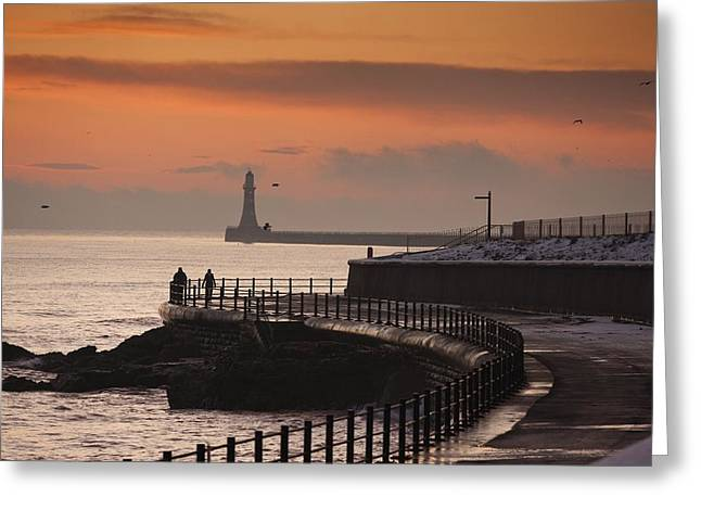 Worn In Greeting Cards - Sunderland, Tyne And Wear, England Greeting Card by John Short
