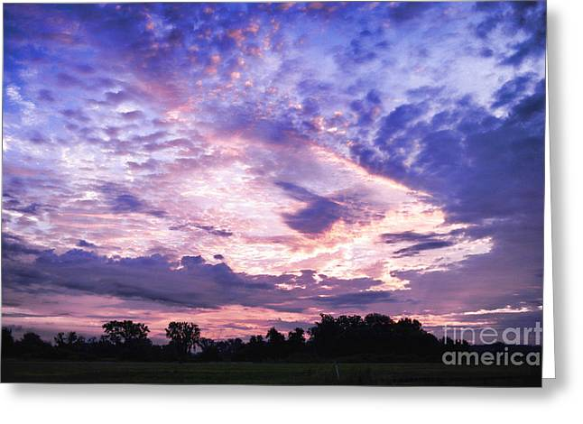 Sunrise Greeting Cards - Sunrise Greeting Card by HD Connelly