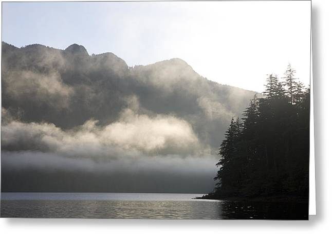 Queen Charlotte Islands Greeting Cards - Sunrise In Haida Gwaii Greeting Card by Taylor S. Kennedy