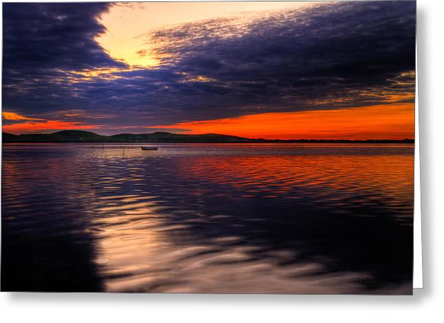 Hdri Greeting Cards - Sunset Greeting Card by Gert Lavsen