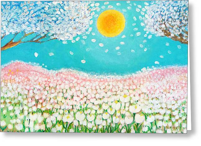 Dream Scape Greeting Cards - Sweet Dreams Greeting Card by Ashleigh Dyan Bayer