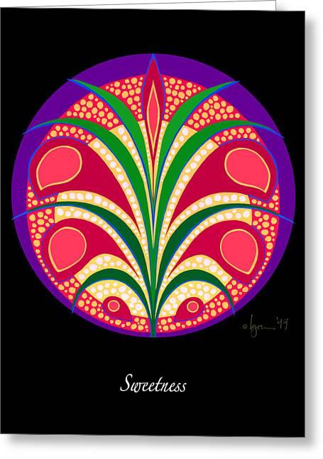 Survivor Art Greeting Cards - Sweetness Greeting Card by Angela Treat Lyon