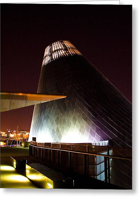 Hot Shop Greeting Cards - Tacoma Glass Museum Greeting Card by David Patterson