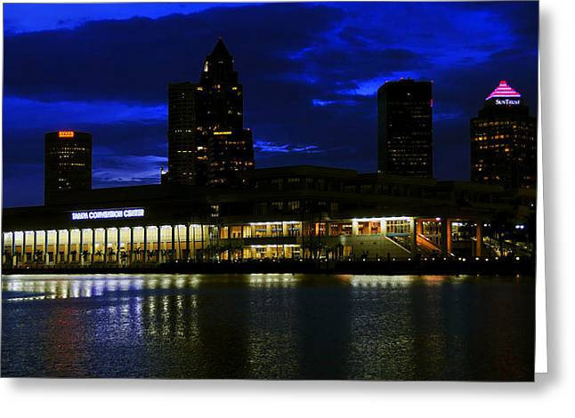 Convention Greeting Cards - Tampa Convention Center Greeting Card by David Lee Thompson