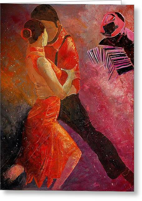 Tango Greeting Cards - Tango Greeting Card by Pol Ledent