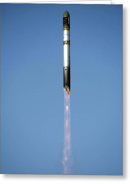 X-15 Greeting Cards - Terrasar-x Satellite Launch Greeting Card by Ria Novosti