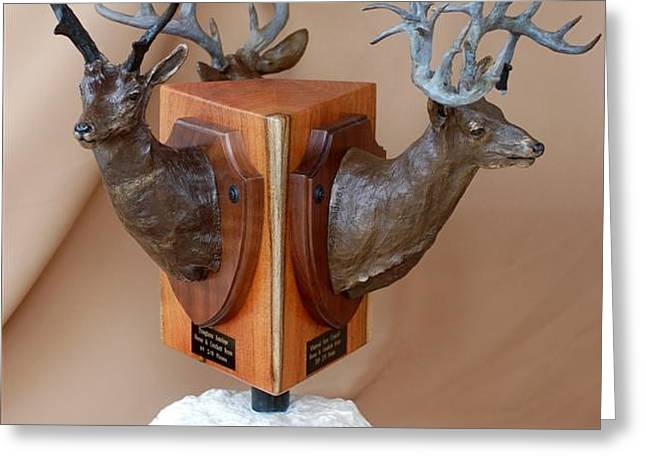 Texas Trophies Greeting Card by J P Childress