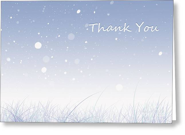 Trilby Cole Greeting Cards - Thank you Greeting Card by Trilby Cole