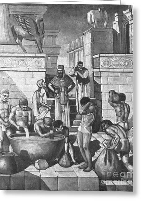 Babylonia Greeting Cards - The Art Of Brewing, Babylon Greeting Card by Science Source
