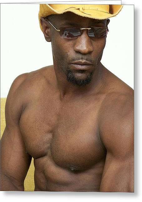 Fotoart By Jake Greeting Cards - The Art of Muscle Antonio Greeting Card by Jake Hartz