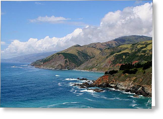 Pfeiffer Beach Greeting Cards - The Big Sur Scene Greeting Card by PJQandFriends Photography