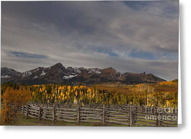 Temperature Greeting Cards - The Dallas Divide Greeting Card by Keith Kapple