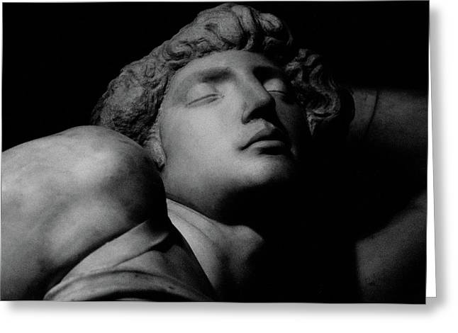 Buonarroti Photographs Greeting Cards - The Dying Slave Greeting Card by Michelangelo Buonarroti
