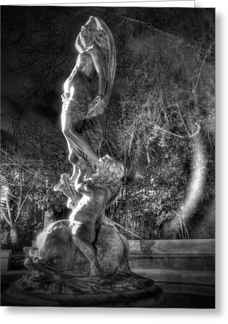 Galatea Greeting Cards - The Galatea Statue right view Greeting Card by Studio Ecosse