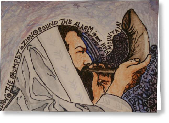 Prophesy Greeting Cards - The King is Coming Greeting Card by Amy Parker