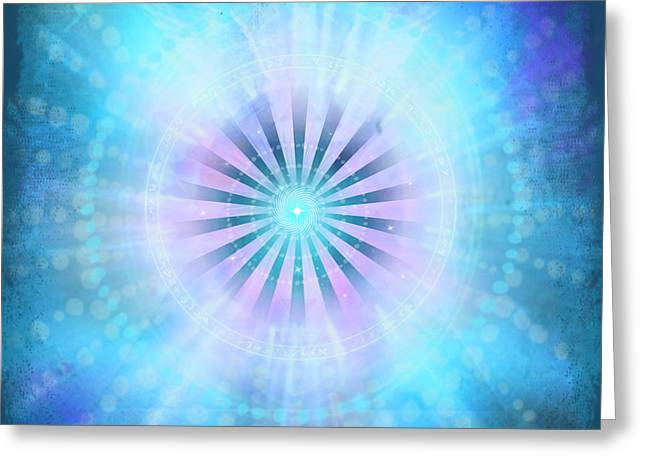 Christine Bryant Digital Greeting Cards - The New Earth Portal Greeting Card by Christine Louise Bryant