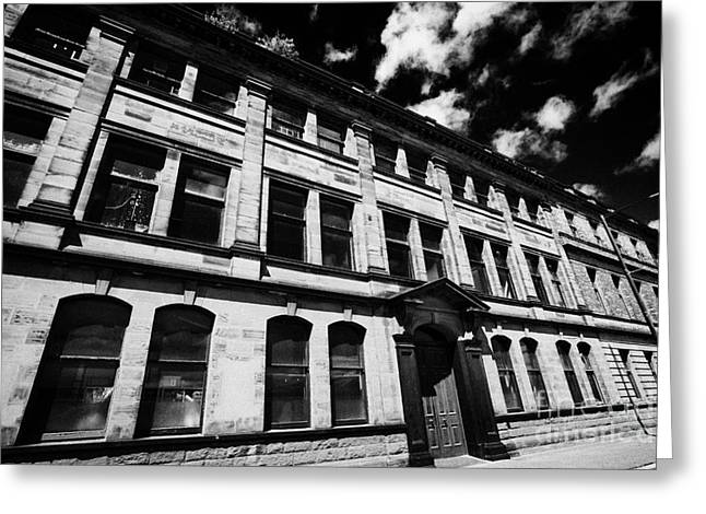 Wolff Greeting Cards - The Old Harland And Wolff Drawing Offices In Titanic Quarter Queens Island Belfast Northern Ireland  Greeting Card by Joe Fox
