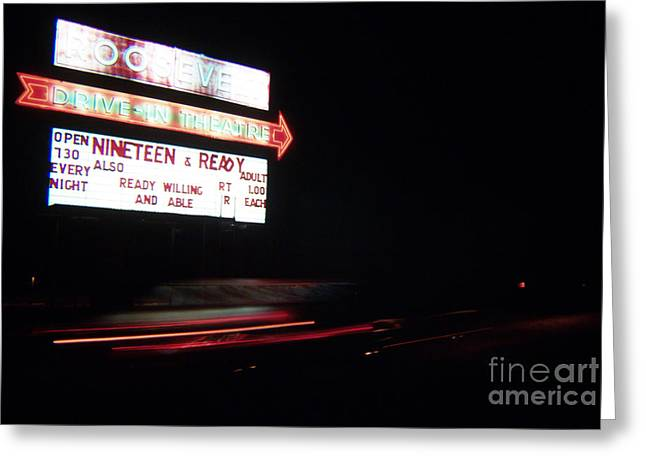 Photographers Ellenwood Greeting Cards - The Roosevelt Drive Inn Greeting Card by Corky Willis Atlanta Photography