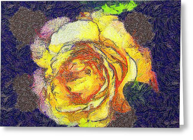 The rose Greeting Card by Odon Czintos