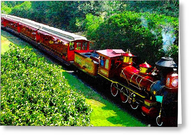 Majic Greeting Cards - The Roy O. Disney Greeting Card by David Lee Thompson