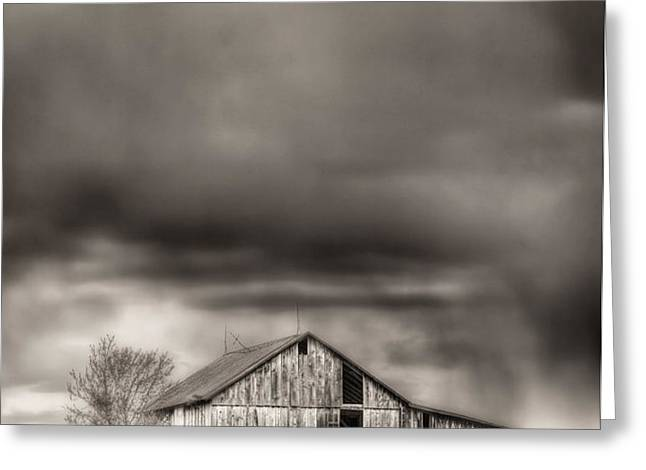 The Smell of Rain Greeting Card by JC Findley