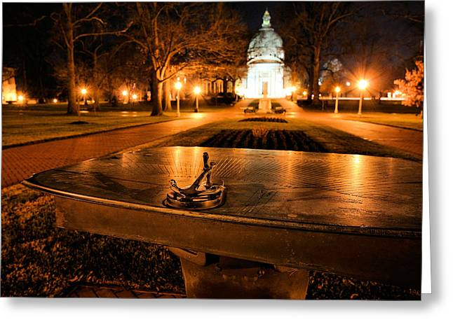Annapolis Md Greeting Cards - The Sundial Greeting Card by JC Findley