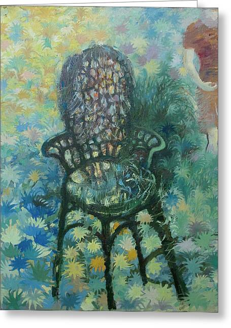 Moment Of Life Greeting Cards - The Viennese chair Greeting Card by Alexander Nam