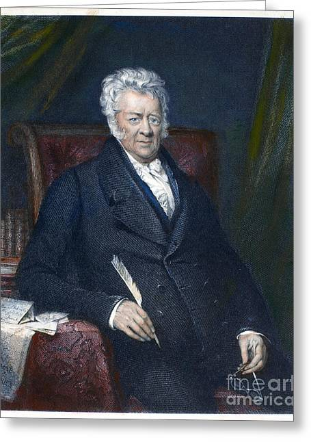 Abolition Greeting Cards - Thomas Clarkson (1760-1846) Greeting Card by Granger