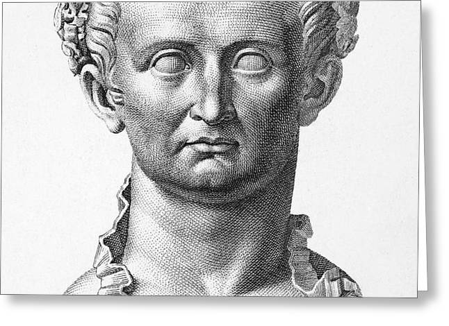 TIBERIUS (42 B.C.- 37 A.D.) Greeting Card by Granger