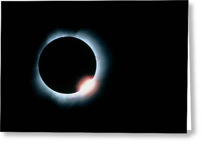 Total Solar Eclipse, 11 July 1991 Greeting Card by Dr Fred Espenak
