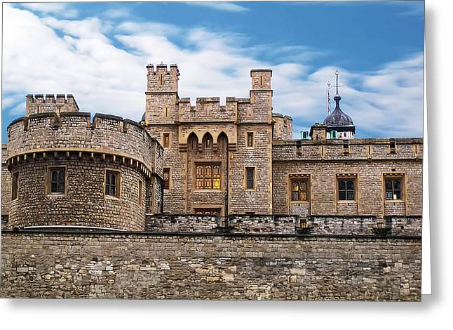 Beheading Photographs Greeting Cards - Tower of London Greeting Card by Jeff Stein